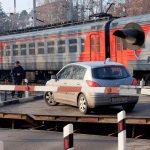 Штраф за нарушение  проезда  железнодорожного переезда
